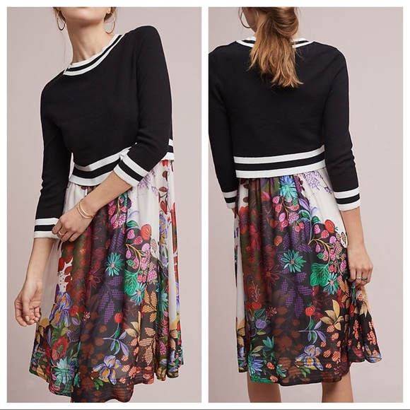 47b6febbbf3 Anthropologie Maeve Osceola Sweater Dress